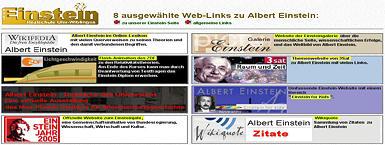Albert_Einstein-Seite der Albert-Einstein-Realschule D-89079 Ulm-Wiblingen